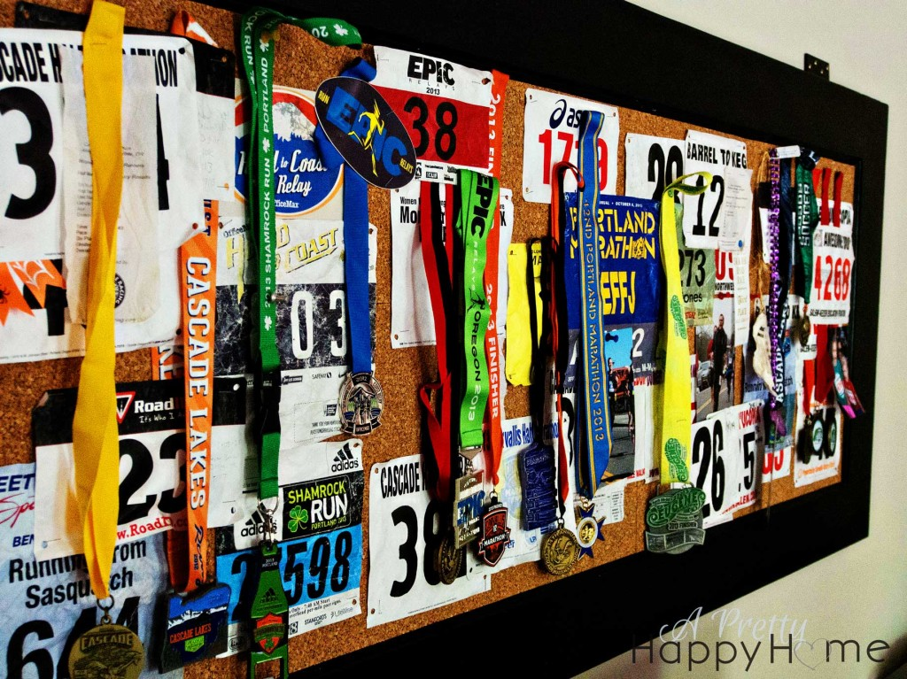 Running Bibs and Medals