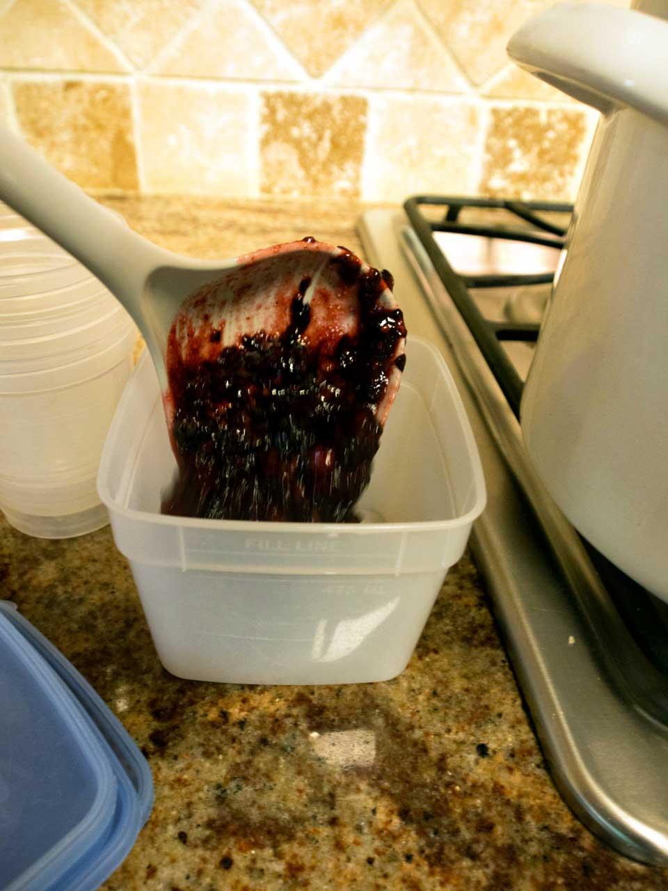 how to make jam from frozen raspberries