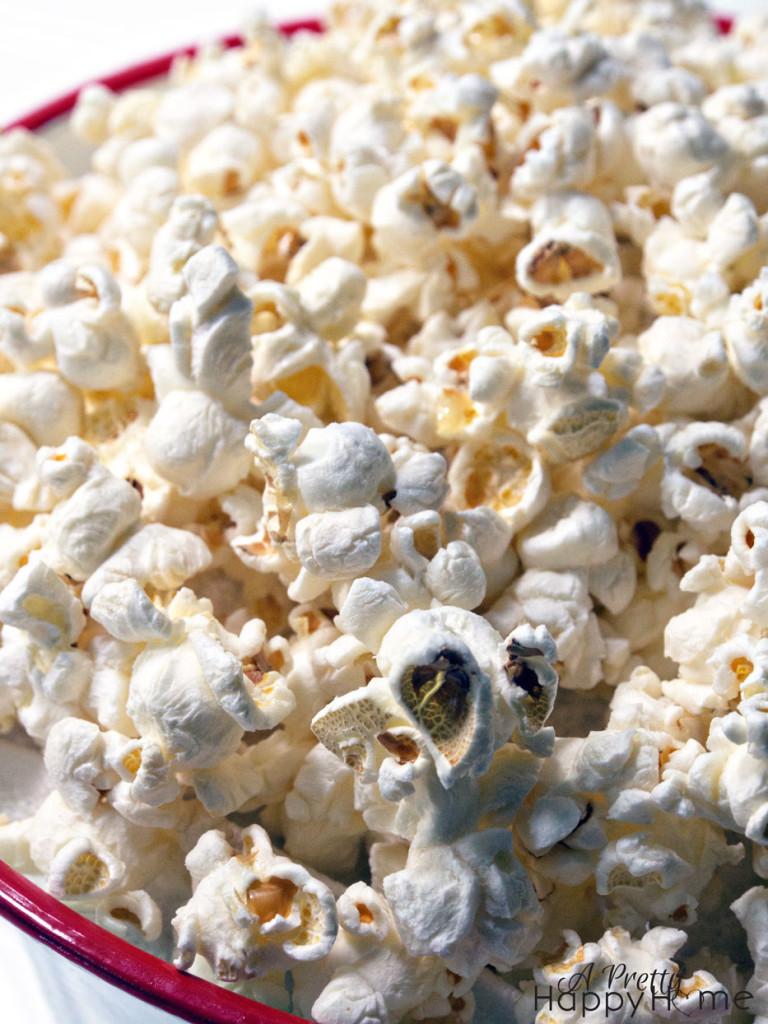 how to make burnt popcorn