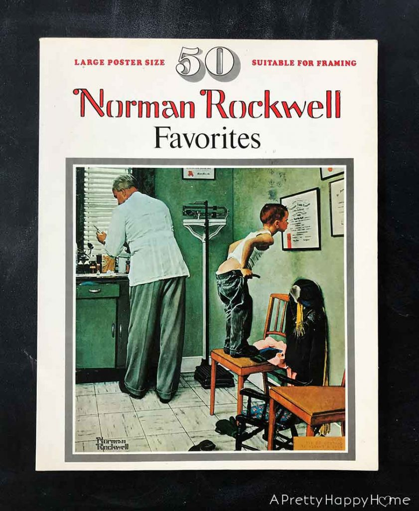 50 norman rockwell favorites Five Old Books I Found in Our New Home