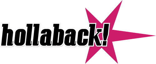 Hollaback logo on the happy list