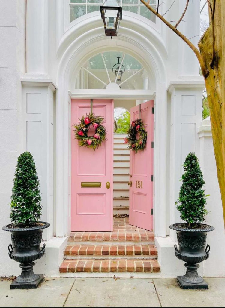 pink door by Charleston Queen on My Domaine