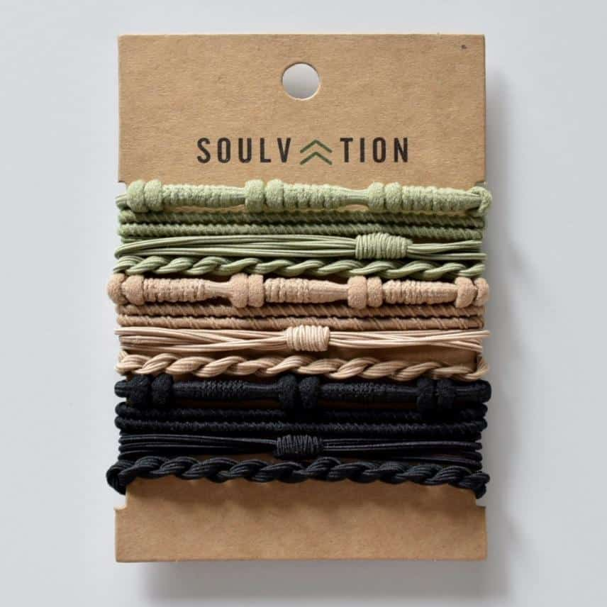 soulvation hair tie bracelets on the happy list